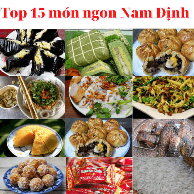 Top 15+ món ăn ngon Nam Định và địa chỉ ăn uống