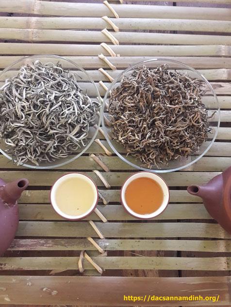 Hướng dẫn cách pha bạch trà shan tuyết 1 tôm Hà Giang -100g