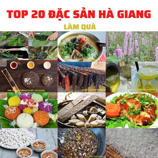 Top 20 + đặc sản Hà Giang mua về làm quà