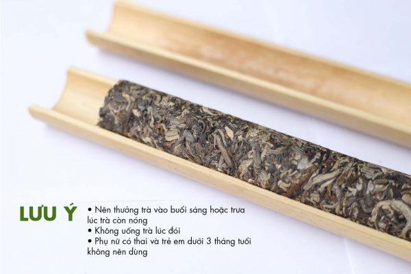 bảo quản trà ống lam gác bếp shan tuyết Hà Giang