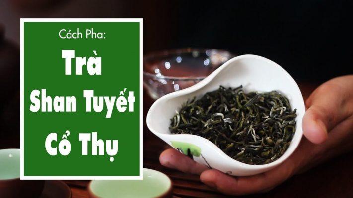 Hướng dẫn cách pha trà shan tuyết cổ thụ đúng cách