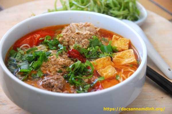 Món ngon Nha Trang - Bún riêu cua Nha Trang