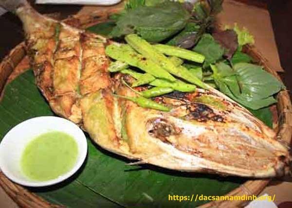 Món ngon Nha Trang - Cá nướng ớt xanh Nha Trang
