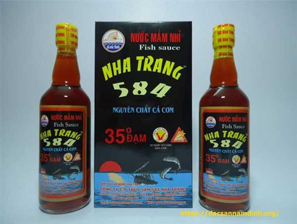 Nước mắm Nha Trang - đặc sản nha trang làm quà biếu