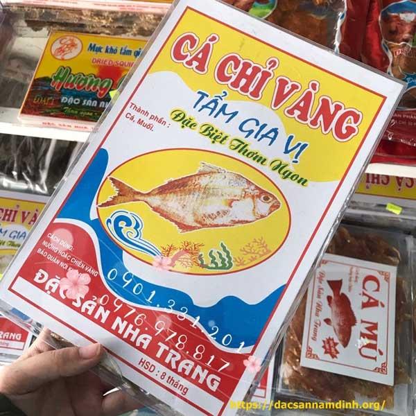 Khô cá chỉ vàng Nha Trang