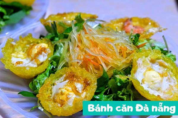 Ẩm thực Đà Nẵng - Bánh Căn, bánh đập