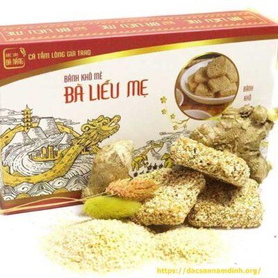 Bánh khô mè bà Liễu