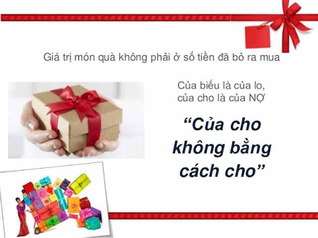 Bật bí 8 lưu ý khi lựa chọn quà tặng cho cha